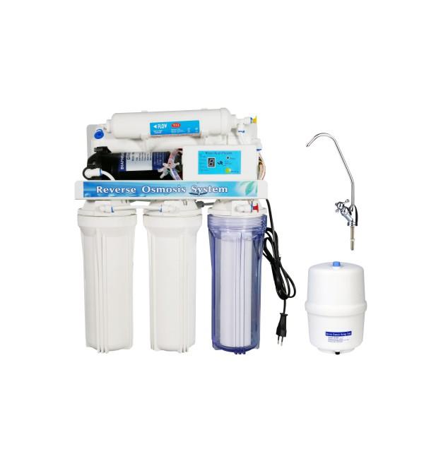反渗透纯水机-KK-RO50G-B(5级带电脑版)