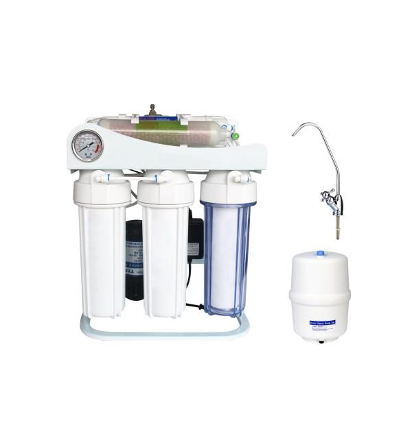 反渗透纯水机-KK-RO50G-H(5级,带压力表)