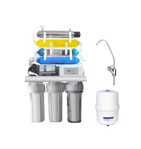 反渗透纯水机-KK-RO50G-X(7级,带紫外线和电脑)